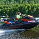 Photo of sea doo acrobatics Riding flat out!