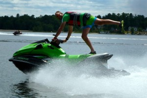 Photo of sea doo acrobatics