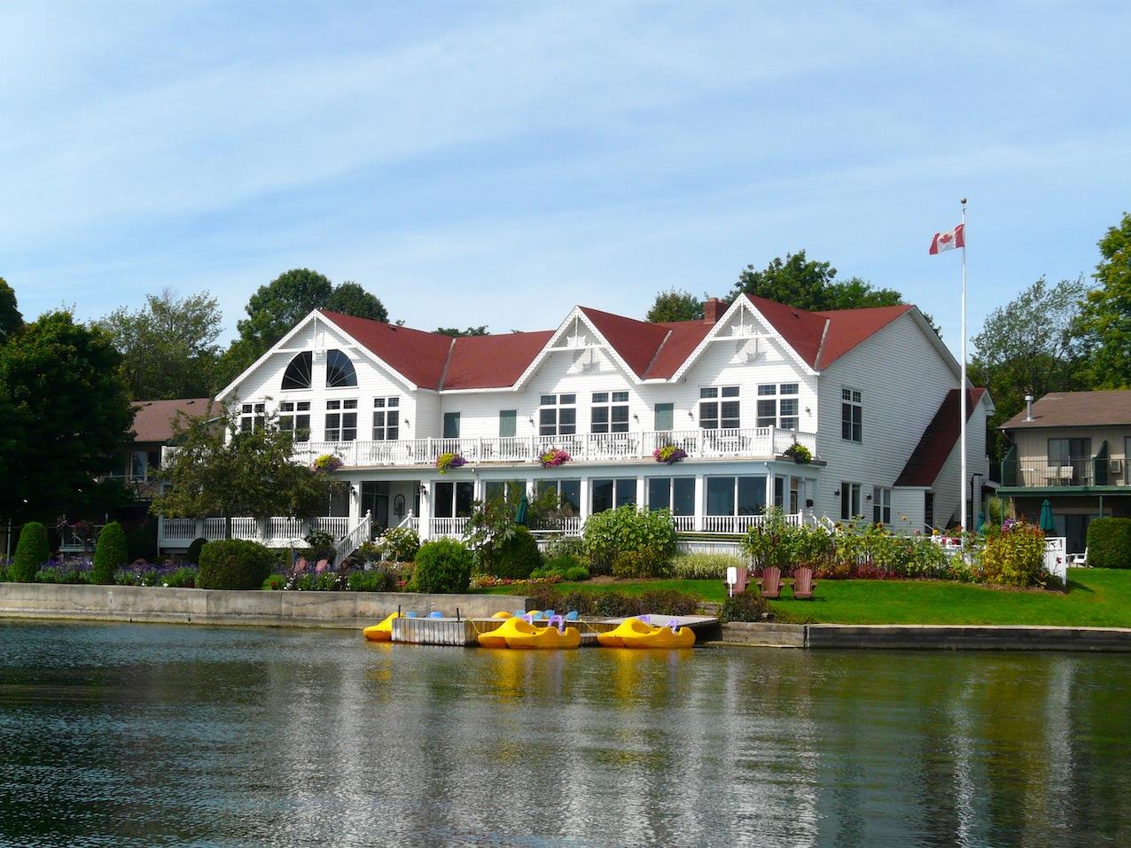 Waterfront Restaurant Gananoque Ontario