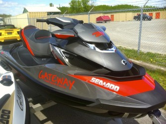 My 2013 Sea-Doo GTX LIMITED iS 260, without boat licence numbers