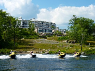 Waterfront at Rosseau JW Marriott Resort & Spa, Ontario Sea Doo Lodgings