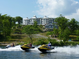Photo of J R Marriott Resort on Lake Rosseau on Muskoka Sea Doo Tour