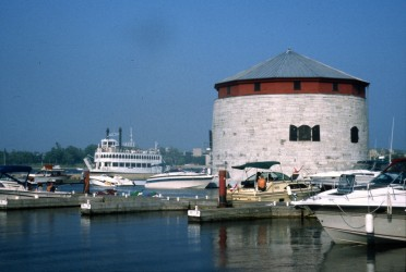 Martello Tower at Kingston on the Rideau Canal Sea Doo tour