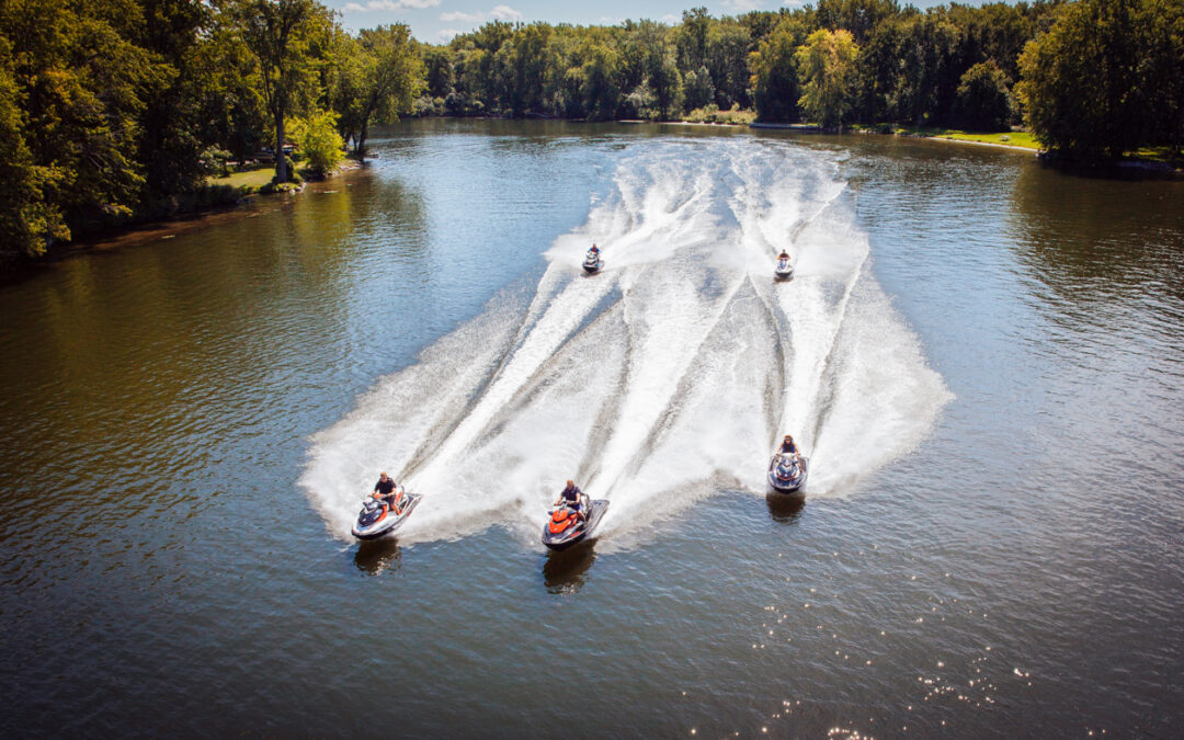 Trent & Otonabee River Sea Doo Tour Ride Planner