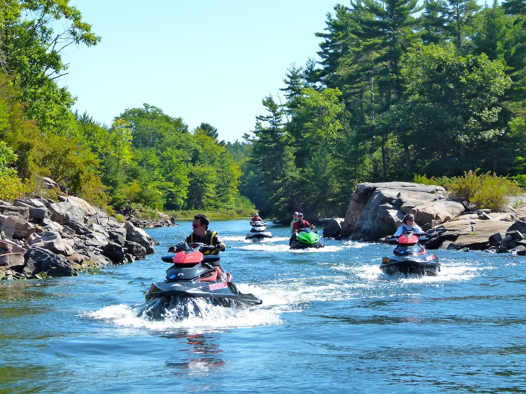 ride ontario sea doo tours