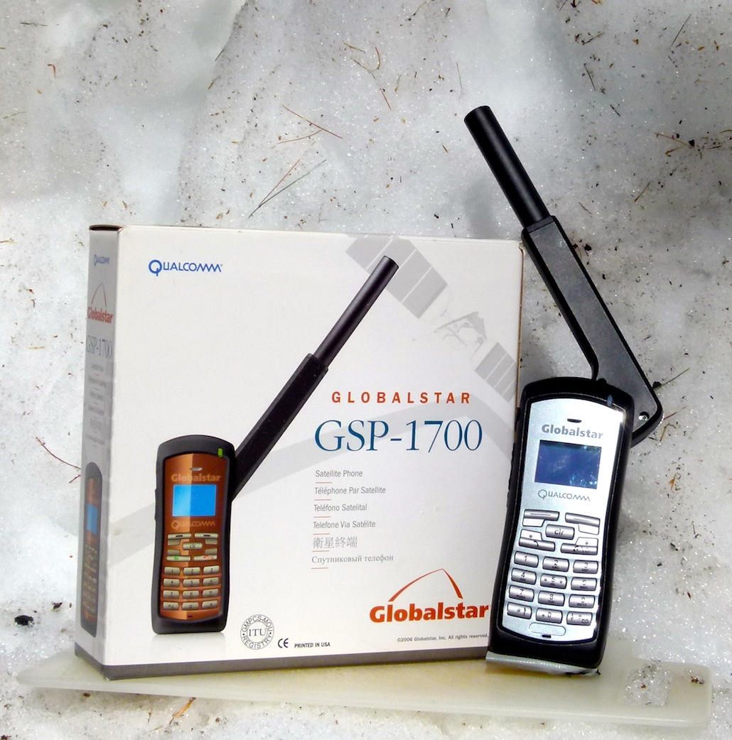 Globalstar GSP-1700 Satellite Phone Product Review