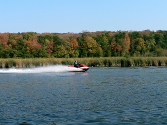 Fall Sea Doo Riding