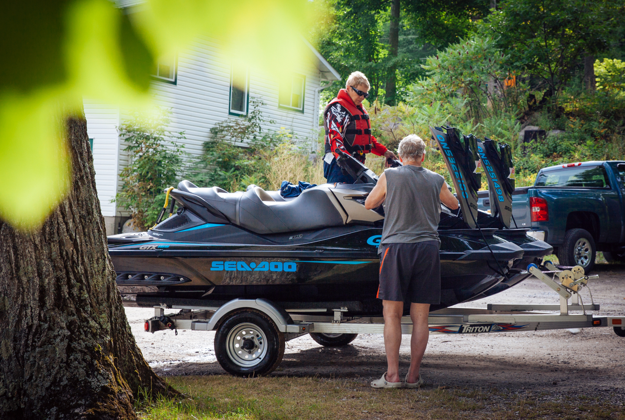 sea doo ride prepping