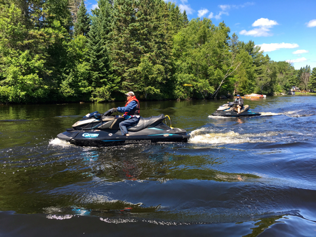 Magnetawan River Ontario Sea Doo Tour