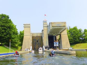 Six Best Ontario Waterway Bypass Systems: Peterborough Lift Lock
