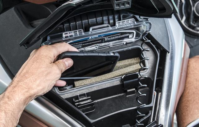 Placing smart phone in Sea Doo Storage glove box