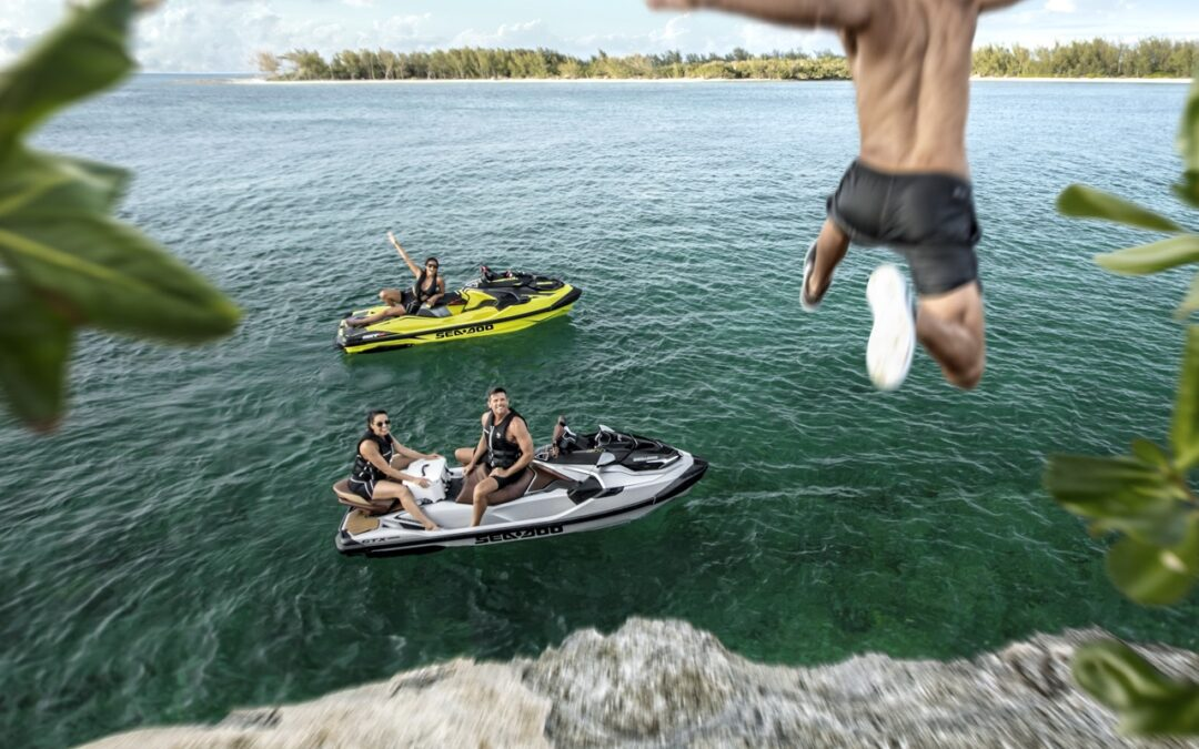 Platform Features On 2018 Sea Doo Watercraft