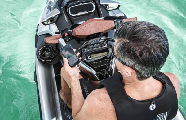 sea doo technology advances audio system