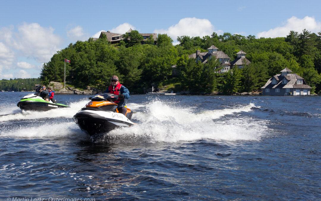 Muskoka Sea Doo Tour Video Ontario Ride