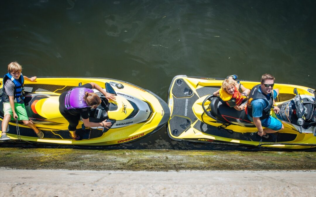 How To Sea Doo Through Locks Properly & Safely