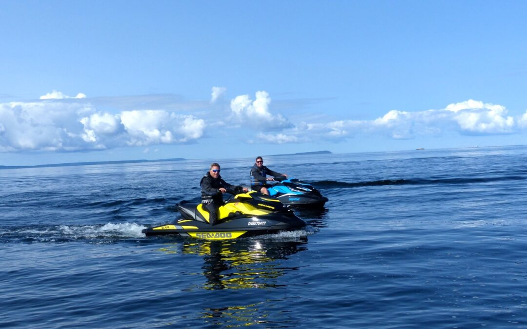 Parry Sound Sea Doo Tour on Georgian Bay Ontario